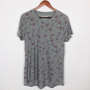 3/$15 Harry Potter Gray Graphic Tee Size XL